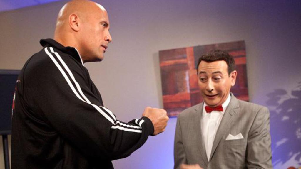 Pee Wee Herman, WrestleMania