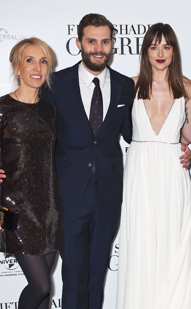 Sam Taylor-Johnson, Jamie Dornan, Dakota Johnson