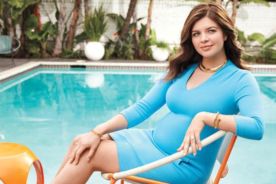 Casey Wilson, Fit Pregnancy