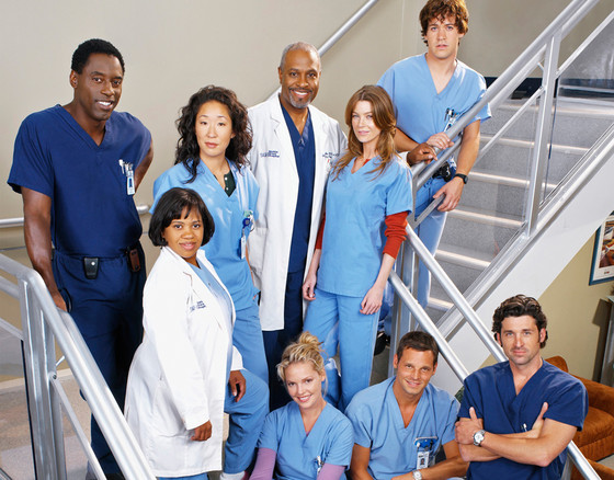 Grey's Anatomy Cast 2005
