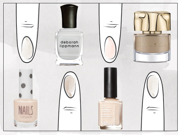 Rip Nail Art The Newest Manicures Are Painted With Off Center