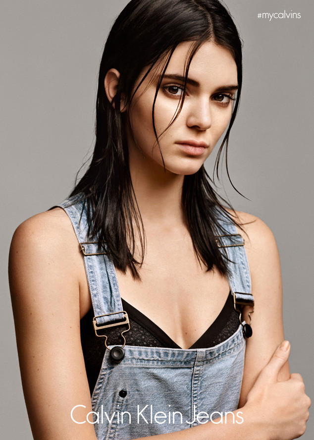 Kendall Jenner, CALVIN KLEIN JEANS