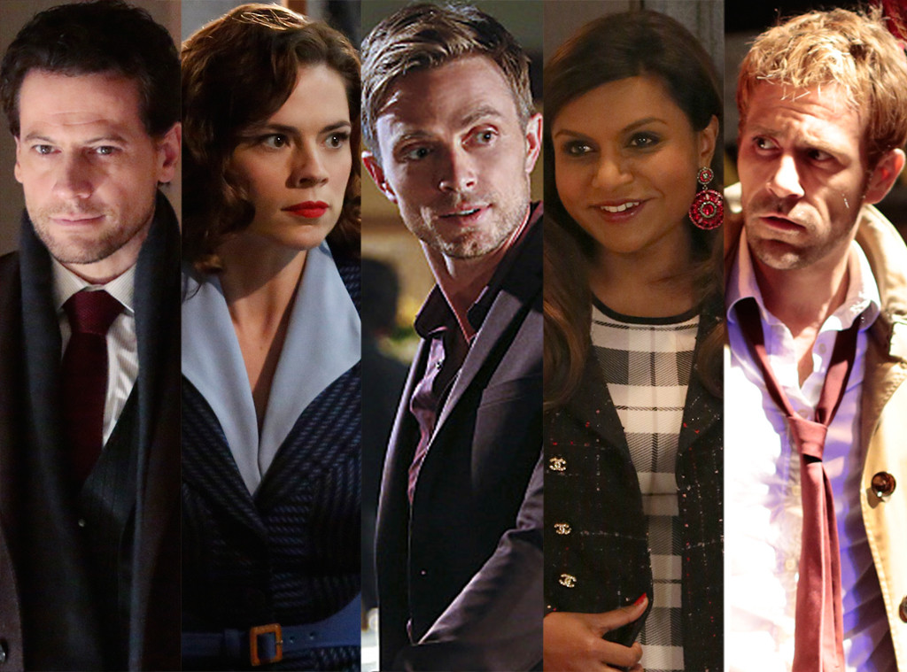 Save One Show, Hart of Dixie, Agent Carter, Forever, The Mindy Project, Constantine