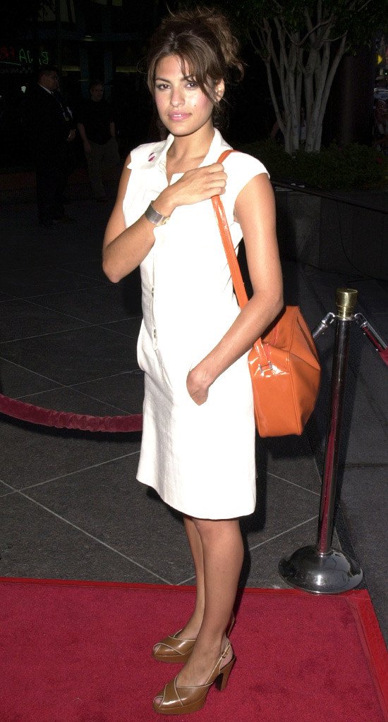 Eva Mendes First Ever Red Carpet Look Was A 6 Dress From