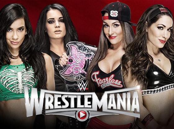 WWE, Wrestle Mania, Divas