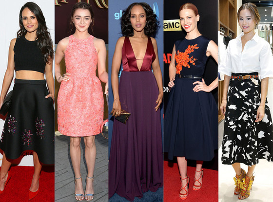 Best Looks Of The Week, Jordana Brewster, Jamie Chung, Kerry Washington, Maisie Williams, January Jones