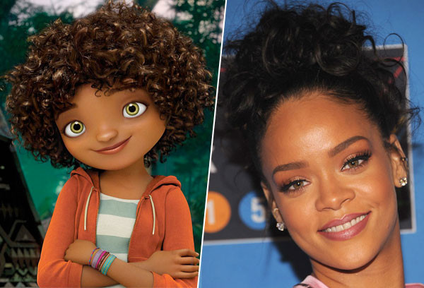 Animate Your Curls With Hair Care Tricks Inspired By Rihanna S Character From Home E Online