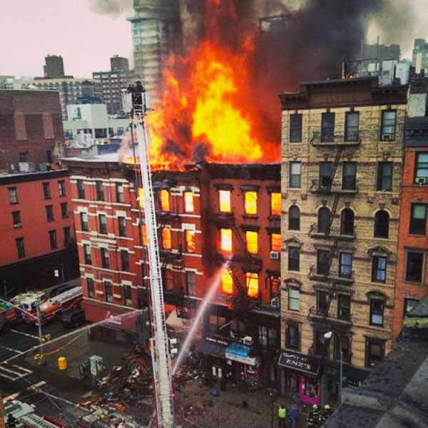 Drea De Matteo, New York Fire