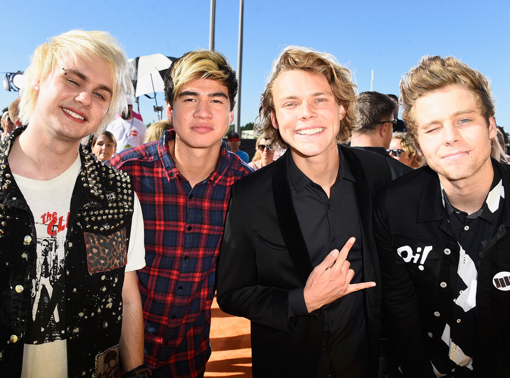 5 Seconds of Summer, 5SOS, Kids' Choice Awards