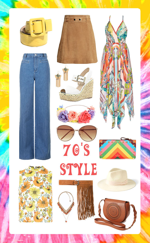 Spring Fashion, 70's Style