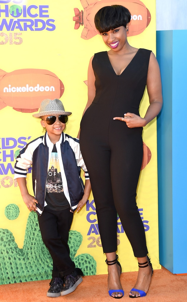 Jennifer Hudson, David Daniel Otunga Jr., Kids' Choice Awards 2015