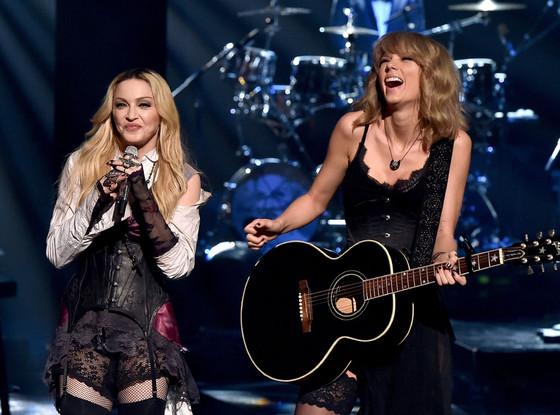 Madonna, Taylor Swift