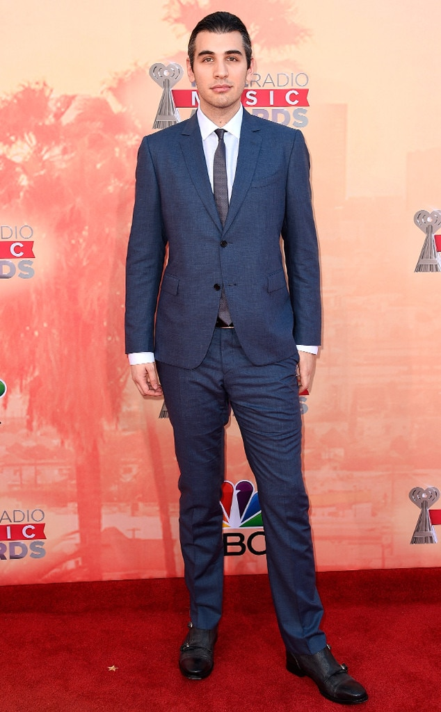 Nick Simmons From 2015 Iheartradio Music Awards Red Carpet
