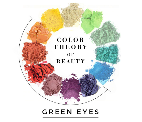 Style Collective, Color Theory of Beauty Green Eyes