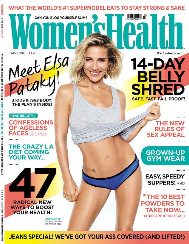 Elsa Pataky, Women's Health UK