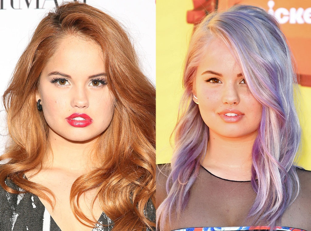 Debby Ryan From Celebrities Changing Hair Color E News