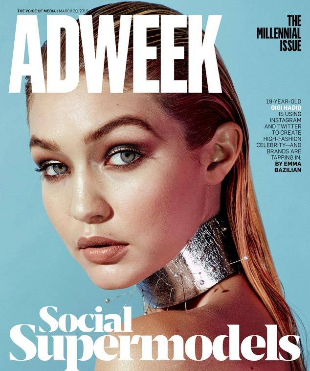 Gigi Hadid, Ad Week