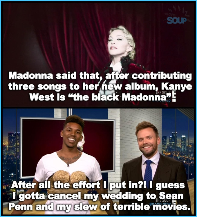 Black Madonna from The Soup In Pictures   E! News