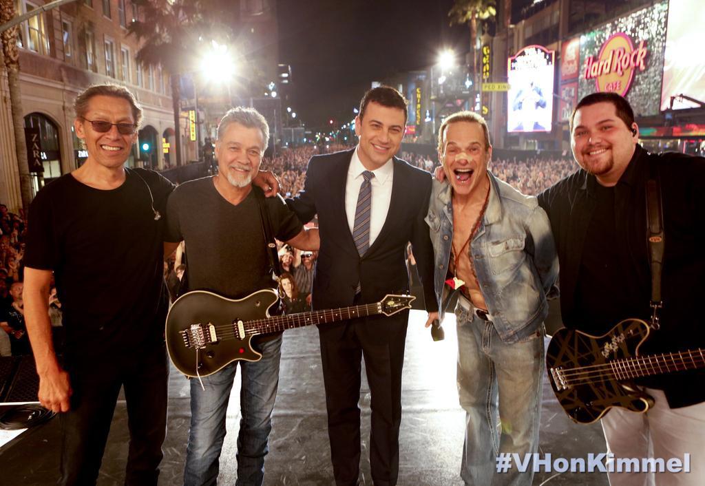 Van Halen, Jimmy Kimmel
