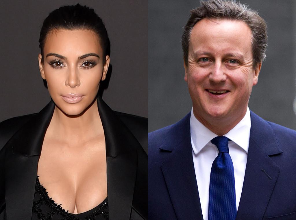 Kim Kardashian, David Cameron