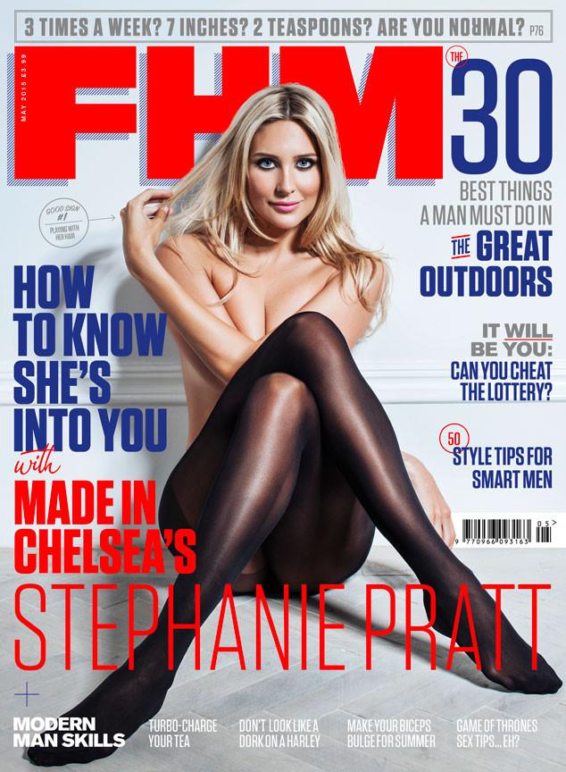 Stephanie Pratt, FHM Magazine