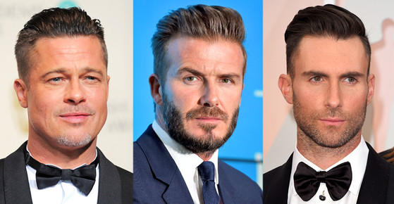 Men Hair Trends, Brad Pitt, David Beckham, Adam Levine