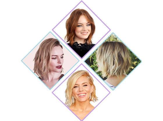 Tousled Bob, Emma Stone, Lauren Conrad, Kate Bosworth, Sienna Miller