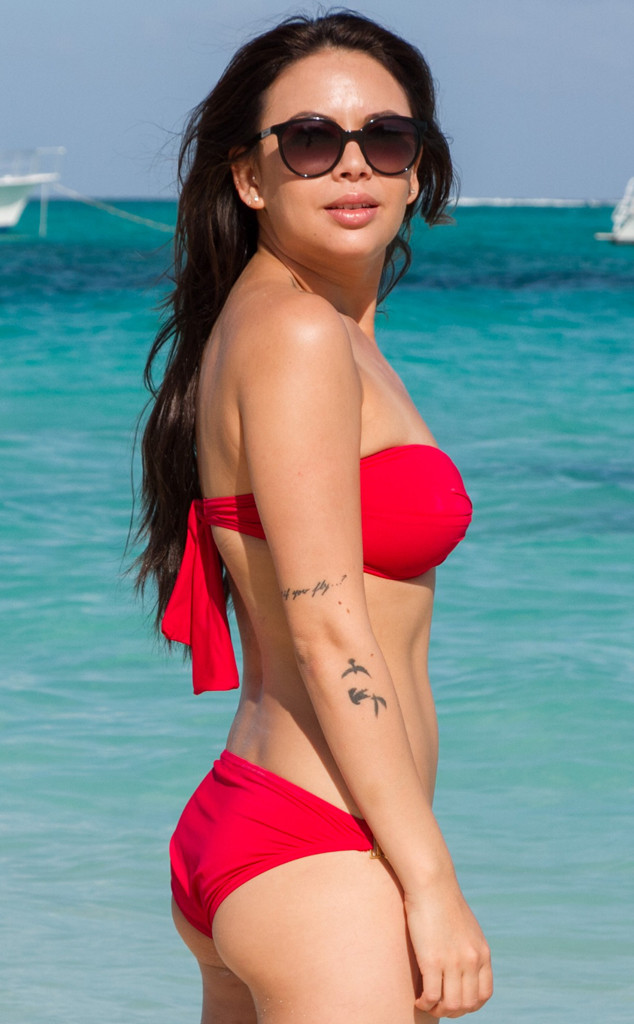 Janel Parrish, Bikini