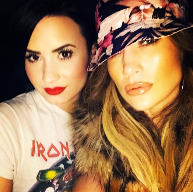 Demi Lovato, Jennifer Lopez