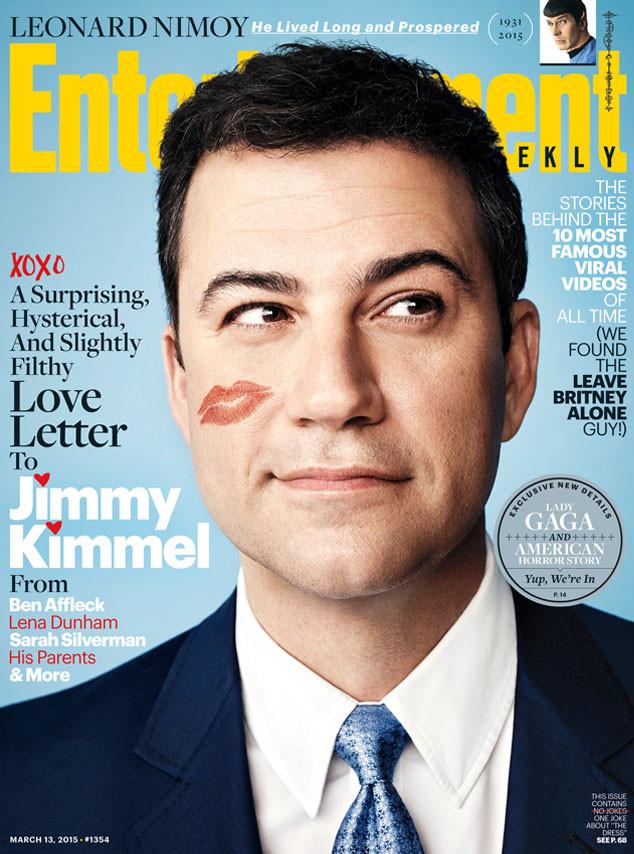 Jimmy Kimmel, Entertainment Weekly