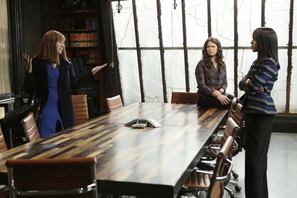Scandal, Lena Dunham, Kerry Washington, Katie Lowes
