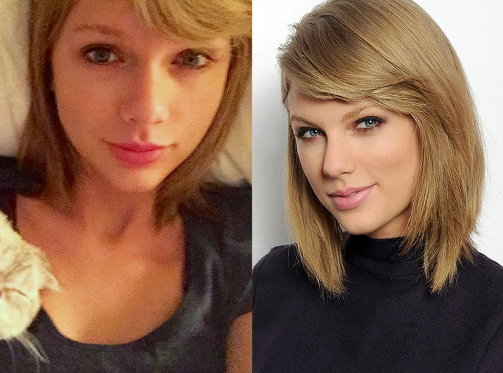 taylor swift from stars without makeup e news