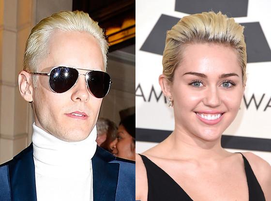 Jared Leto, Miley Cyrus