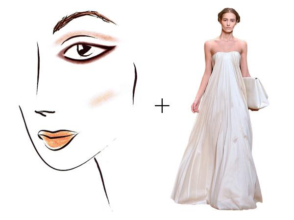 Style Collective, Dress Makeup Pairings, Catalina Su