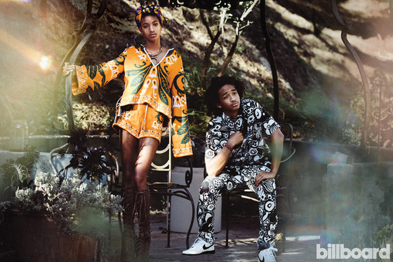 Jaden Smith, Willow Smith, Billboard