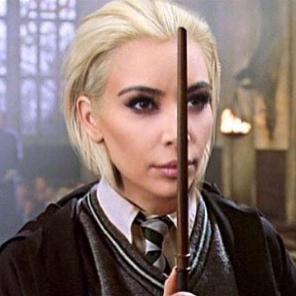 Tom Felton, Kim Kardashian, Draco Malfoy, Instagram