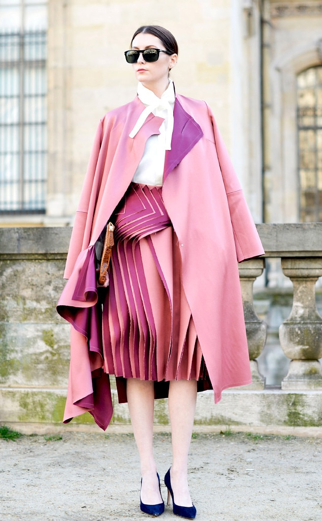 Audra From Street Style Paris Fashion Week E News