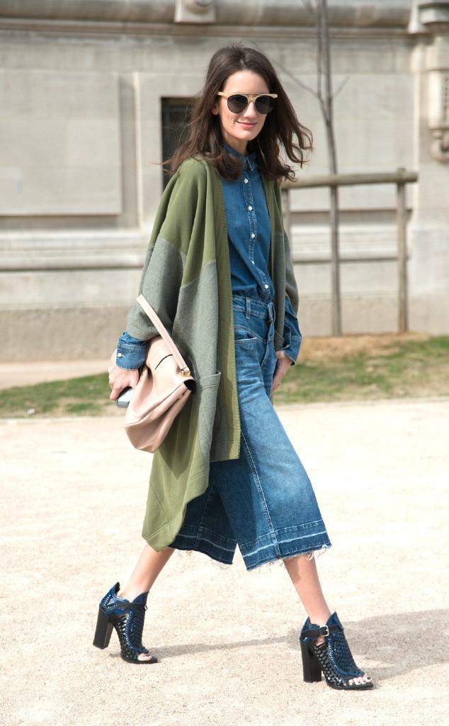 Chloe Sachdev From Street Style Paris Fashion Week E News