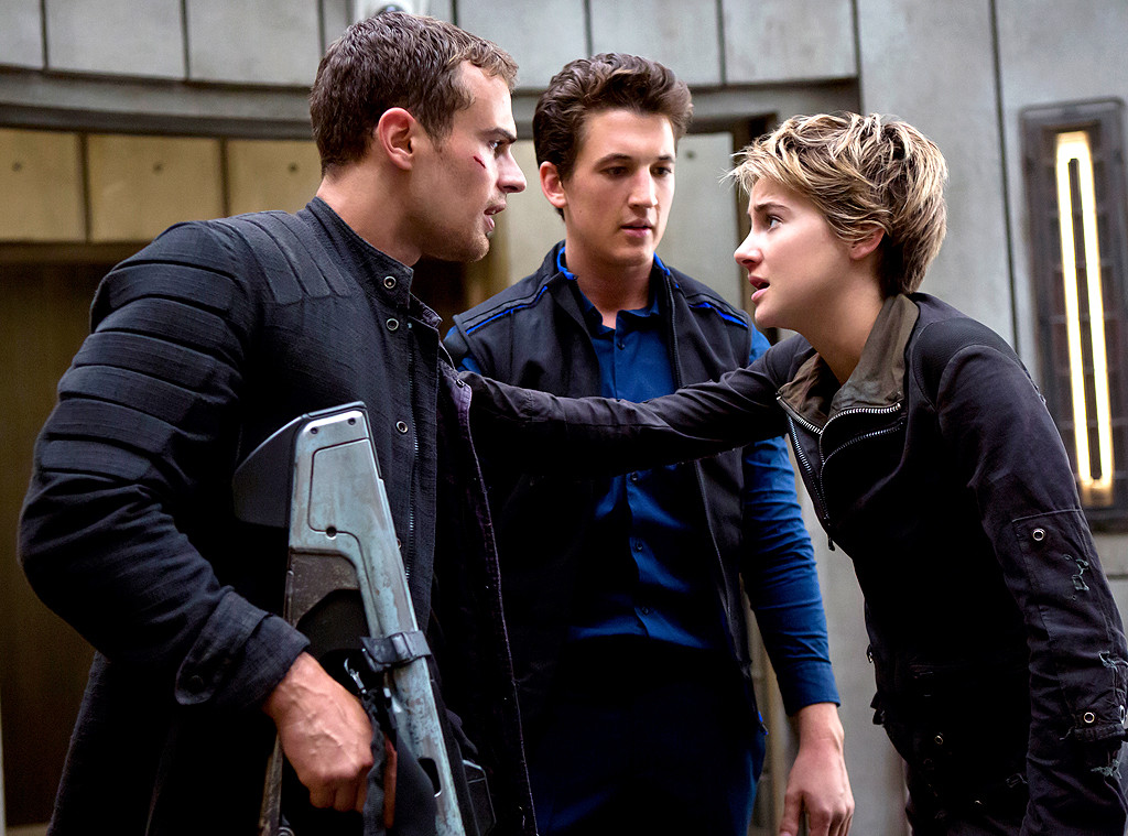 The Divergent Series: Insurgent, Shailene Woodley, Theo James, Miles Teller