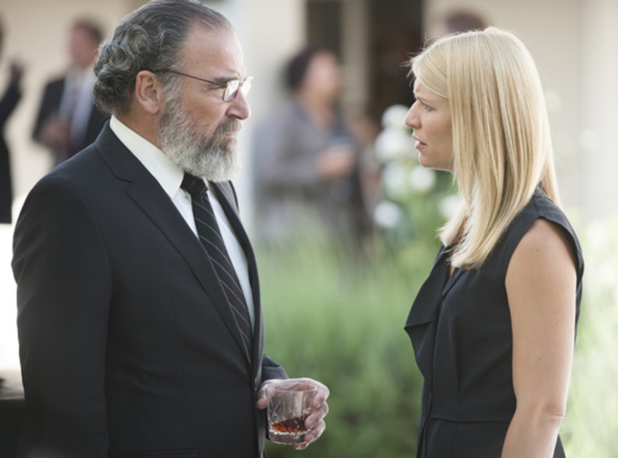 Mandy Patinkin, Claire Danes, Patrie