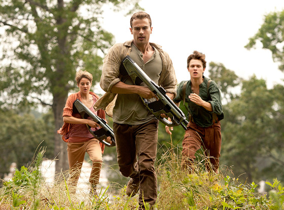 The Divergent Series: Insurgent, Theo James, Shailene Woodley, Ansel Elgort