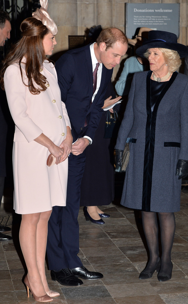 Prince William, Duke of Cambridge, Kate Middleton, Catherine, Duchess of Cambridge, Camilla, Duchess of Cornwall