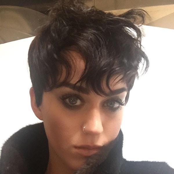 Katy Perry, Short Hair, Instagram