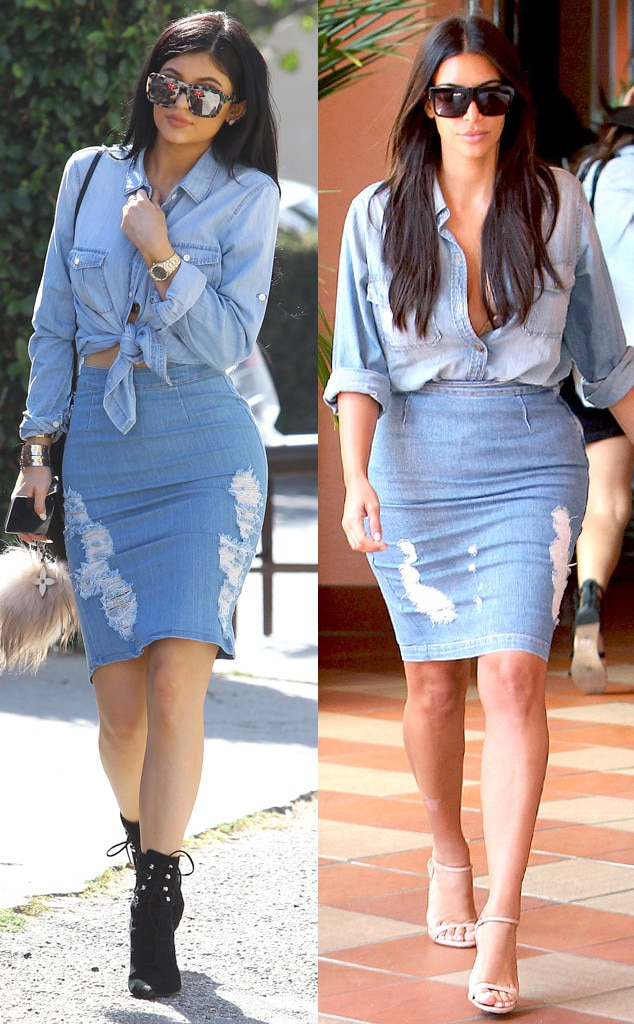 Double Denim from Every Time Kylie Jenner Has Dressed