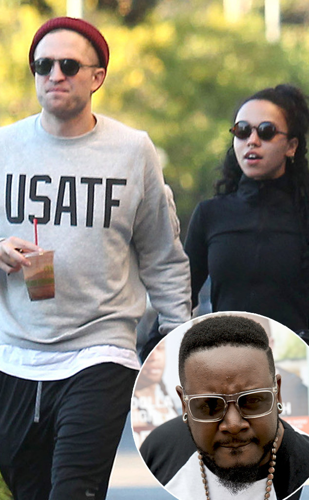 Robert Pattinson, FKA Twigs, T-Pain