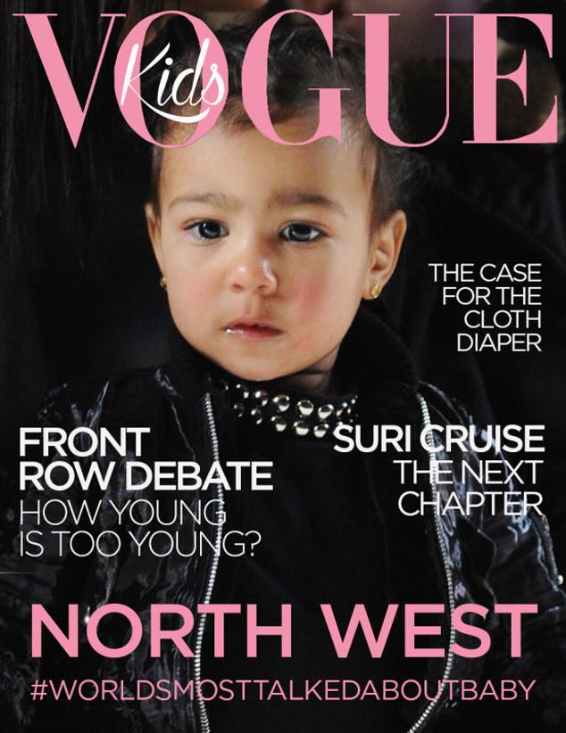 North West, April Fool Vogue