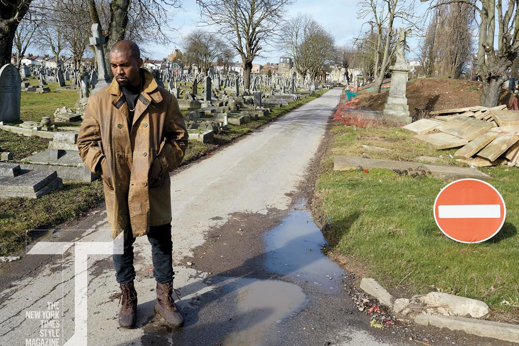 Kanye West, T Magazine