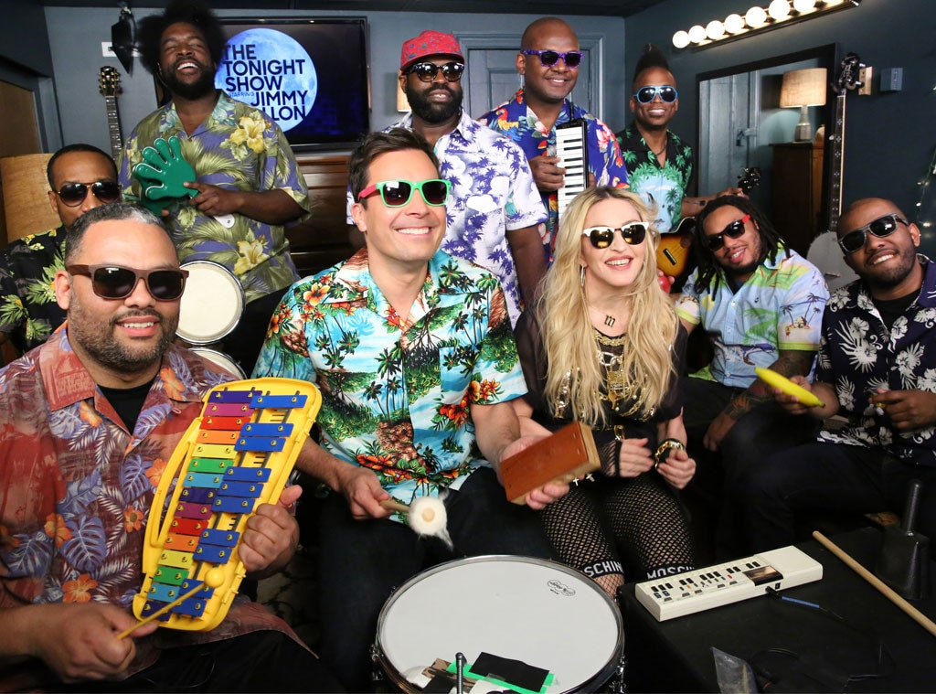 Jimmy Fallon, Madonna, The Roots