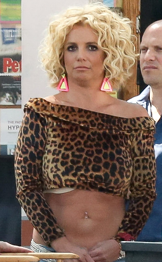 Are Britney spears see through