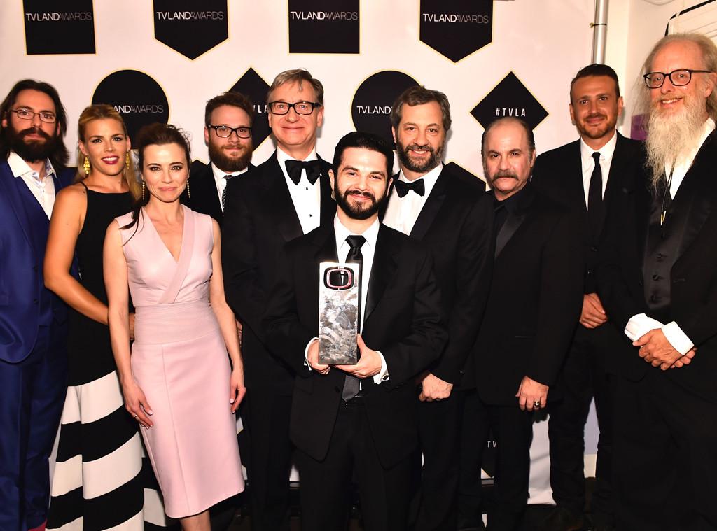 Martin Starr, Busy Philipps, Linda Cardellini, Seth Rogen, Paul Feig, Samm Levine, Judd Apatow, TV Land Awards